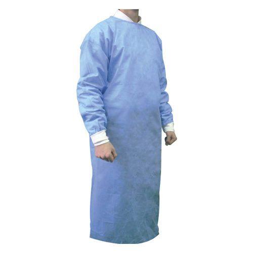 Bata quirúrgica estéril reforzada talla L
