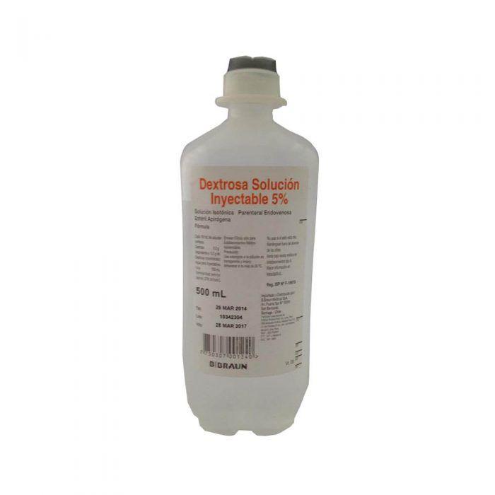 Suero glucosado al 5% dextrosa