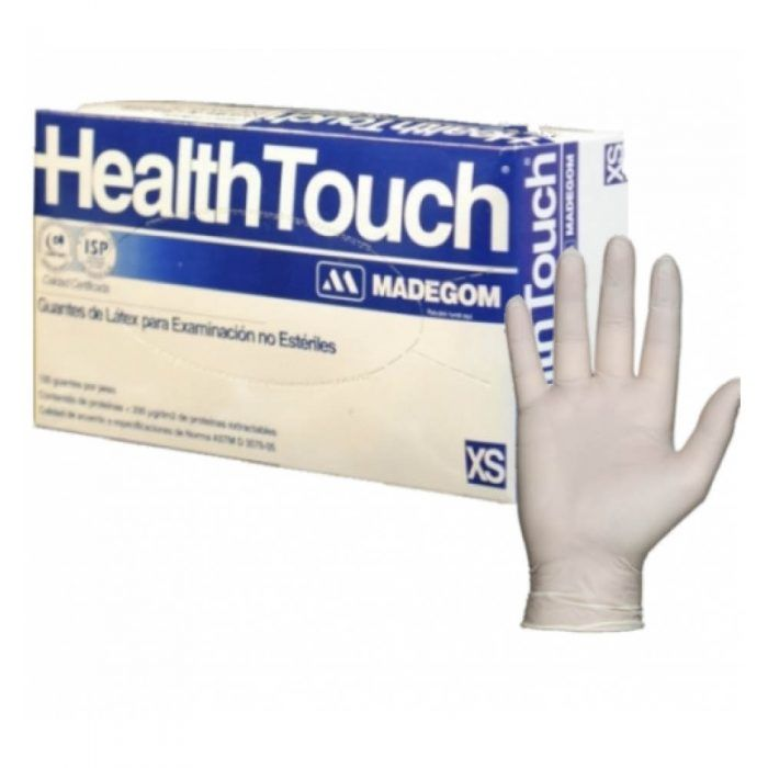 Guante látex Health Touch