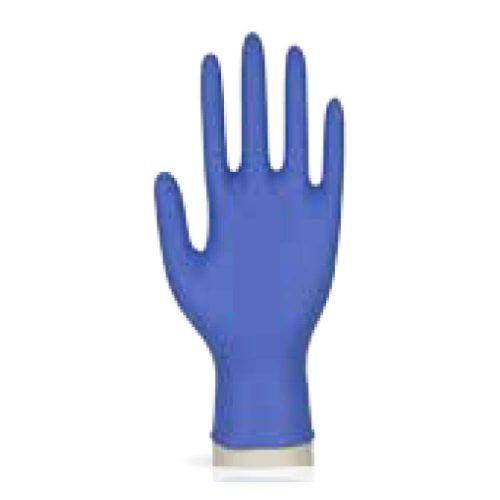 Guante nitrilo azul